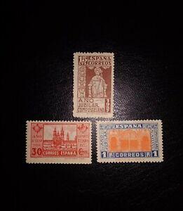 España 1937 Edifil 833/835 MH