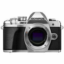 Brand New Olympus OM-D E-M10 Mark III Digital Camera Body - Silver