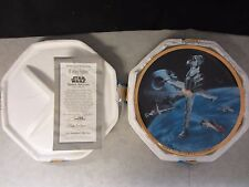 Star Wars B-Wing Fighter Space Vehicles ~ Hamilton Plate ~ 1995 Coa #1328C