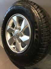 MITSUBISHI TRITON 2017 GENUINE ALLOY WHEELS & TYRES ALSO SUIT PAJERO