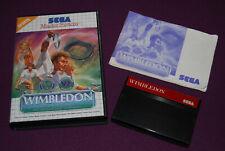 WIMBLEDON - Sega - Jeu Tennis Master System PAL