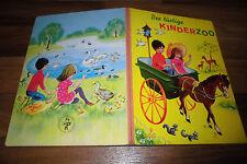 der LUSTIGE KINDERZOO -- altes Bilderbuch von Pestalozzi ca 1960er