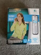 Logitech Cordless Skype Phone,Handset,Charging Cradle, & AC Power Adapter Bundle