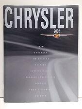 2002 Chrysler Full Line Brochure: Prowler, 300M, PT Cruiser, Sebring, Concorde