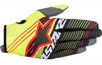 Alpinestars Radar Tracker YOUTH Gloves Fluo Yellow/Black Motocross Mx Off Road