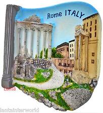 Roman Forum Plaza Structures Rome Italy Italian 3D Fridge Magnet Refrigerator