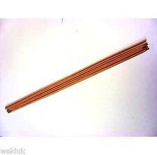 1.6mm Fluxed Coated Brazing Rods 33cm Long x 6 E85