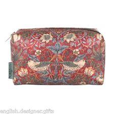 NEW William Morris Strawberry Thief Cosmetics Wash Bag