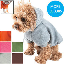 Pet Life Classical Fashion Designer Cotton Hooded Hoodie Pet Dog Sweater Clothes