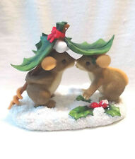 """Charming Tails """"Mouse-L-Toe"""" Christmas (Mouse) [NumberedLtdEd][Gccexclus ive]"""