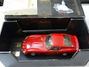 Revell METAL '64 Ferrari 250 GTO #8850 1:12 Scale Die-Cast Car  - (LE) Rosso Red