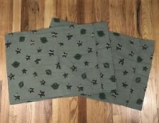 Military Army Green Standard Pillowcase Pair Home Trends Camo Camouflage AK