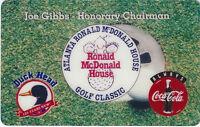 TK 146 Telefonkarte/Phonecard USA 10u Coca-Cola & Mac Donalds Golf Classic