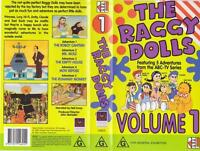 THE RAGGY DOLLS VOLUME ONE A  RARE FIND VHS VIDEO PAL~