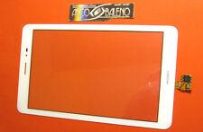 P1 VERRE+écran tactile BLANC POUR HUAWEI MEDIAPAD T1 S8-701U pour AFFICHAGE