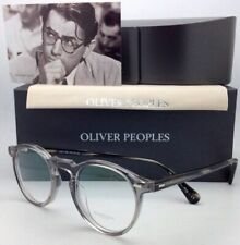New OLIVER PEOPLES Eyeglasses GREGORY PECK OV 5186 1484 47-23 Round Workman Grey