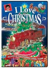 I Love Christmas DVD NEW Lionel holiday music toonerville trolley trees Santa