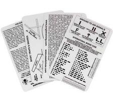 Esee Survival Cards Izula Gear Waterproof Emergency Pocket Reference Guide
