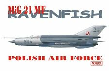 "MiG 21 MF ""RAVENFISH"" (POLISH AF UNIQUE MARKINGS) 1/72 AKKURA LIMITED EDITION"