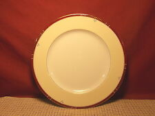 Philippe Deshouldieres China Scala Rubis (Ruby) Dinner Plate New