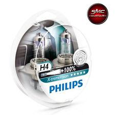LAMPADE PHILIPS H4 X-treme Vision 100% LUCE BIANCO GHIACCIO MERCEDES 100 BUS.