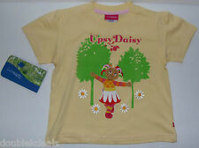 NEW IN THE NIGHT GARDEN GIRLS YELLOW T-SHIRT EMBROIDERED FRONT SIZE 3X