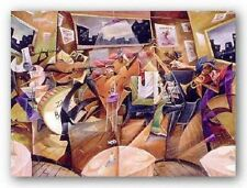 AFRICAN AMERICAN ART PRINT Soul Cafe by Frank Morrison