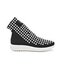 Sneakers donna scarpe sportive Queen Helena tessuto elasticizzato X18-30