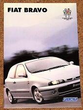 1996 FIAT BRAVO sales brochure-HLX SX S ABARTH Accessoires