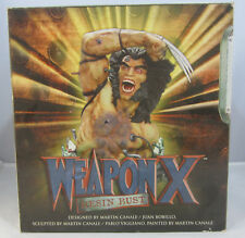 Weapon X 2002 Wolverine Bust Ltd 650/2000 Canale Viggiano Dynamic Forces Marvel