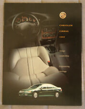 Chrysler Cirrus 1997 dealer brochure - French/English - Canada - St1002001117