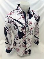 Mens TOM BAINE By SUSLO COUTURE FLORAL PAISLEY Shirt SLIM FIT MULTI COLOR 801-3