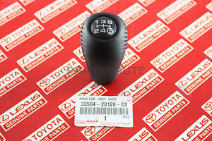 Toyota Land Cruiser Prado 4Runner Hilux 5Speed Manual OEM Leather Shift Knob