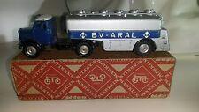 Märklin Modellauto 50/60er Nr.5521/27 MAN ARAL Tankwagen mit OVP raro!!