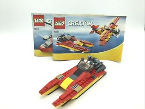 Lego Creator 5866 Rescue Speedboat with Instructions
