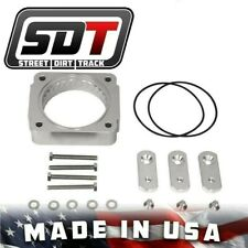 Fits 1996-2004 Lincoln Town Car Silver Billet Aluminum Throttle Body Spacer Kit