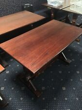 More details for restaurant tables. quality solid wood. ideal for pubs. 14 available job lot