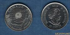 Canada 25 Cents 2015 Coquelicot Souvenir Poppy Flanders Field