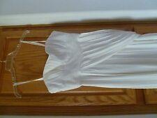 BCBG MAXAZRIA   off White Long Formal Full-Length Dress size 6  (wedding!)