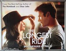 Cinema Poster: LONGEST RIDE, THE 2015 (April Advance Quad) Scott Eastwood