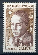 STAMP / TIMBRE FRANCE OBLITERE N° 1514 ALBERT CAMUS