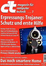 ct 7 2016 c't magazin für computer technik 7/2016 vom 19.03.2016 NEU UNGELESEN