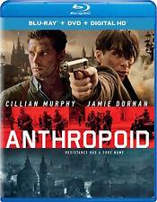 ANTHROPOID - [BLU-RAY/DVD COMBO PACK] - NEW UNOPENED - CILLIAN MURPHY