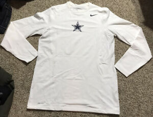 Nike Men's Dri-Fit Dallas Cowboys Football COMPRESSION Training Shirt Sz.XLT NEW
