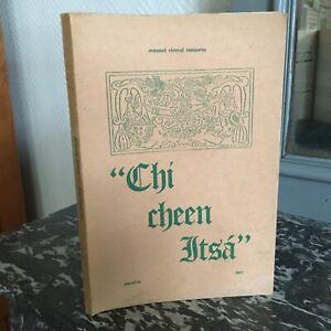 "[Chichén Itzá] Manuel Cirerol Sansores "" chi cheen itsa "" Yucatan 1957"