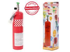 1 Flasche Einweg Helium Gas Ballongas Bombolo ca. 10 - 12 Ballons inkl. Adapter