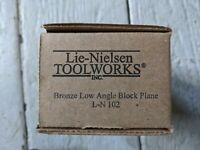 Box For Lie Nielsen 102 Low Angle Bronze Block Plane