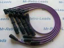 PURPLE 8MM PERFORMANCE IGNITION LEADS FOR SIERRA COSWORTH RS 16V QUALITY LEADS