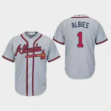 Ozzie Albies Atlanta Braves Baseball Jersey Stitched