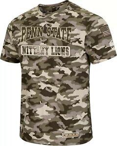 Penn State Nittany Lions NCAA Camo OHT Terrain S.S.T-Shirt XXL/Colosseum/NWT!!